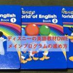 ディズニーの英語教材DWE、メインプログラムの進め方